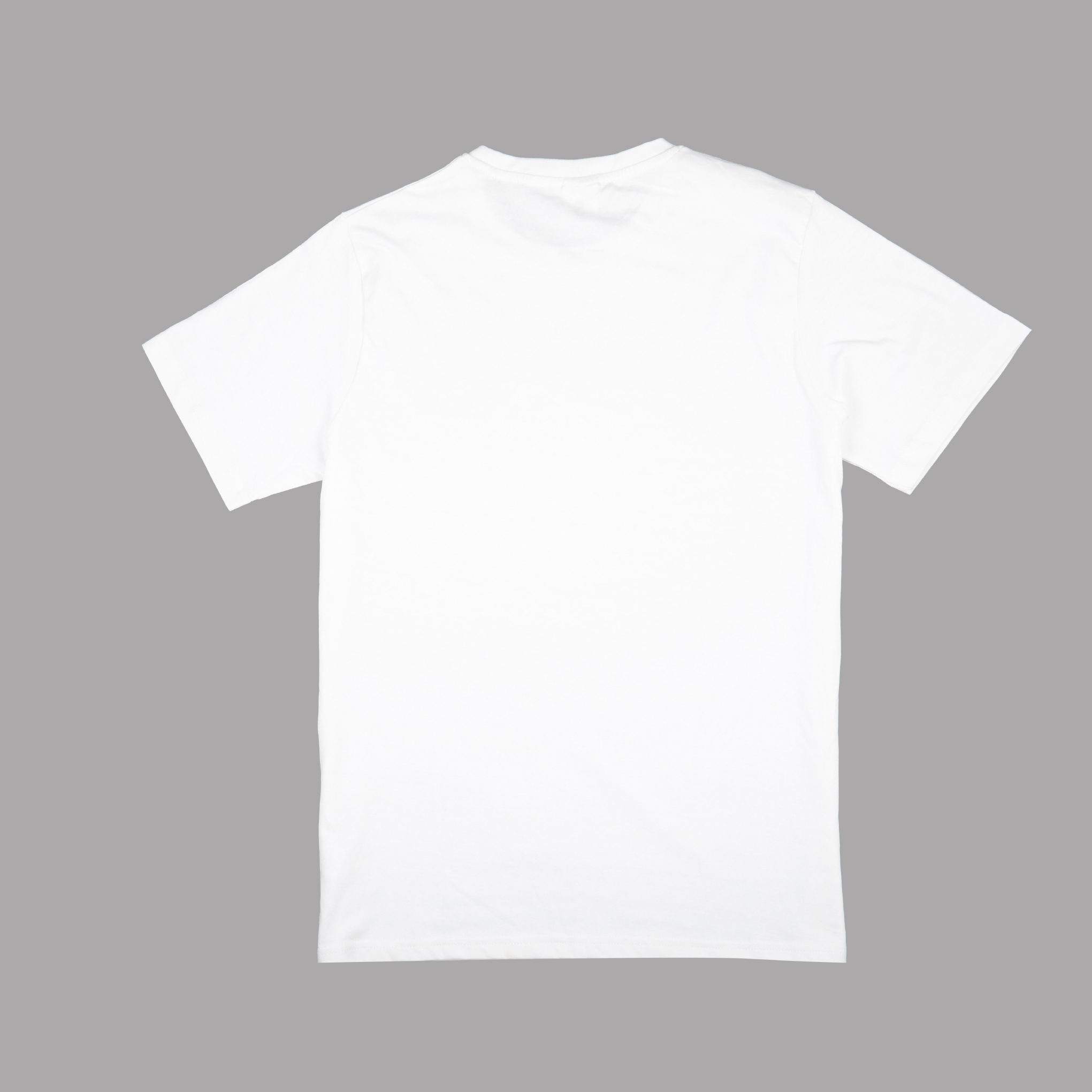 Back View white t-shirt from CDUK