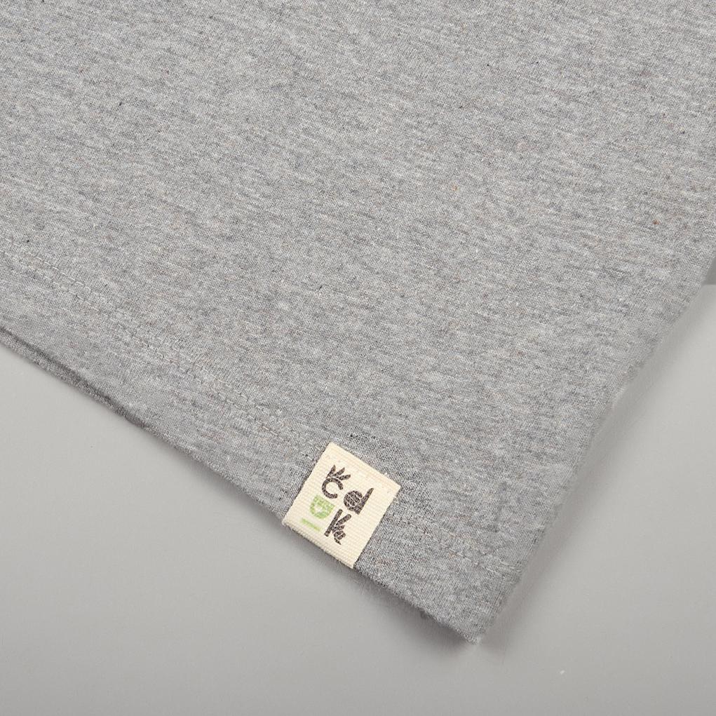 Grey-affordable-ethical-sustainable-unisex-tshirt-organic-cotton-label