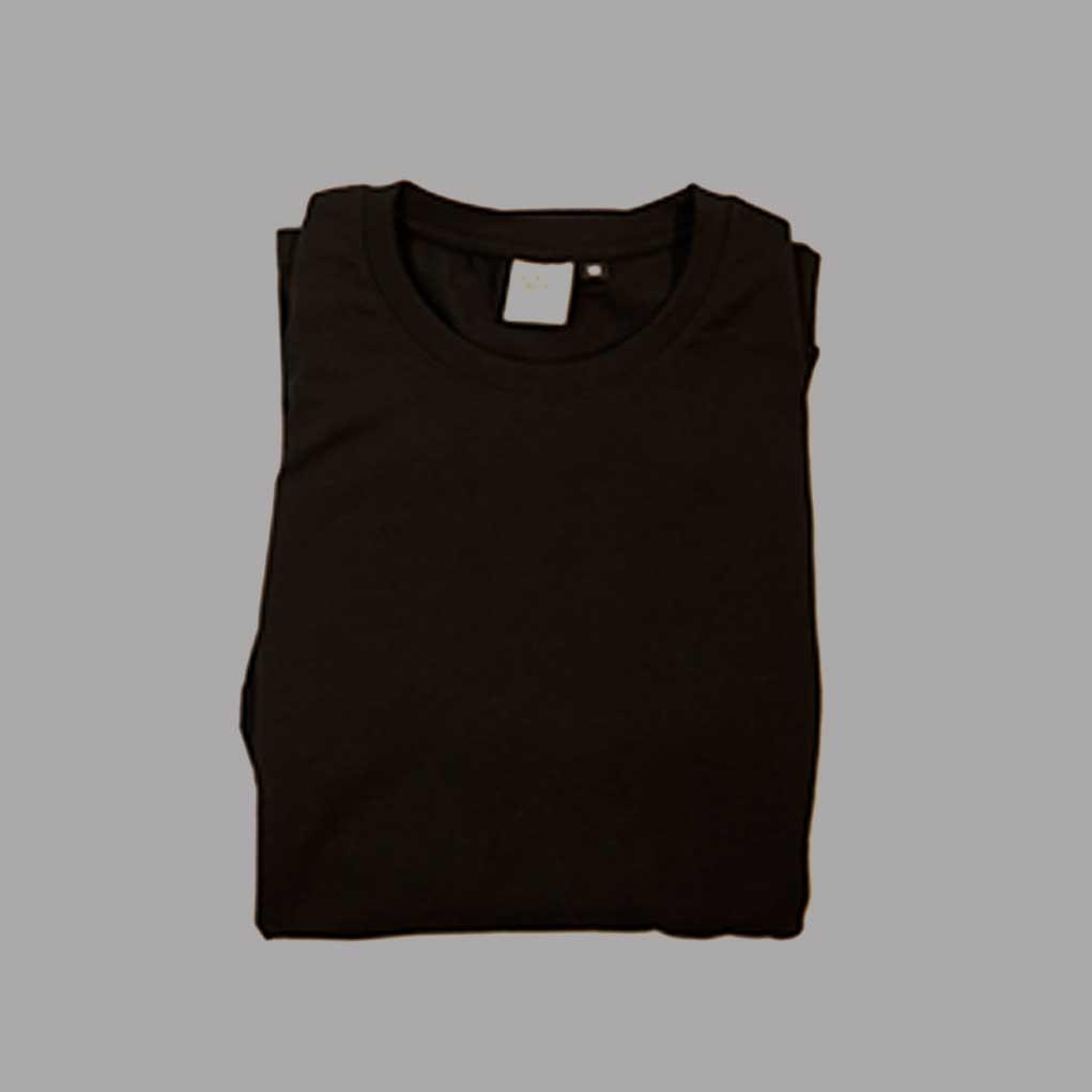 Black-affordable-ethical-sustainable-unisex-long-sleeve–folded